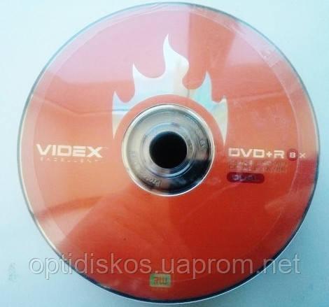 Диск двухслойный DVD+R DL Videx *8, 8,5Gb