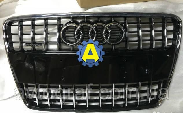 Решетка радиатора на Ауди Q7 (Audi Q7) 2005-2015, фото 1