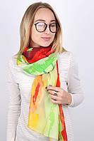 Яркий шелковый шарфик