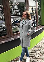 Элегантное подростковое пальто для девочки. Размеры 146, 152, 158.