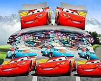 Полуторный детский комплект (рисунок Машинки), фото 1
