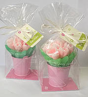 Мыльный набор Тюльпаны в ведерке