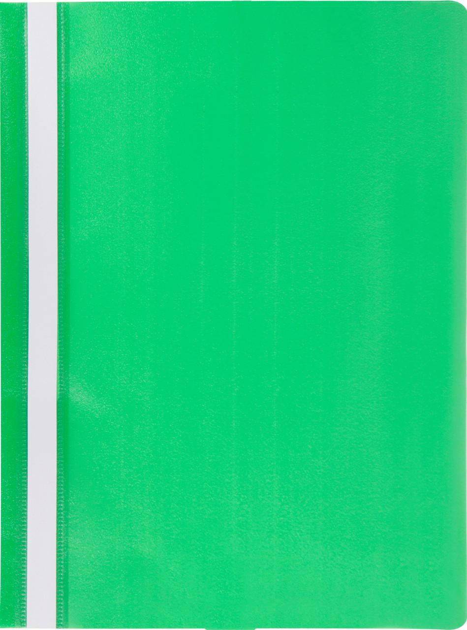 Скоросшиватель Buromax А4 Jobmax PP зеленый BM.3313-04