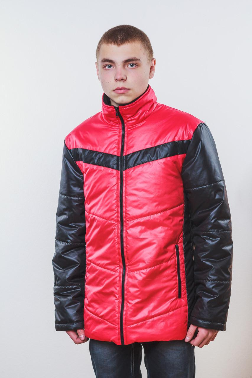 Куртка мужская красная