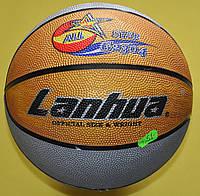 М'яч баскетбольний гумовий №7 LANHUA G2304-1 All star