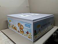 Инкубатор Курочка ряба на 100 яиц механический, аналоговый терморегулятор(не цифровой), пластик. корпус