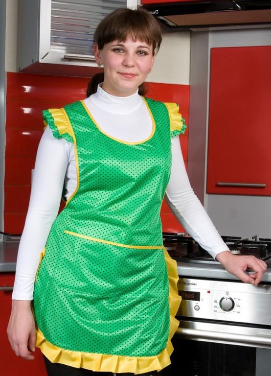 Женчский фартух для кухни