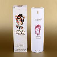 Женская мини-парфюмерия Christian Audigier Ed Hardy Love & Luck 45 ml (в белом тубусе) ALK