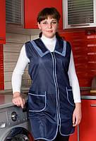 Женчский фартух для кухни большого размера