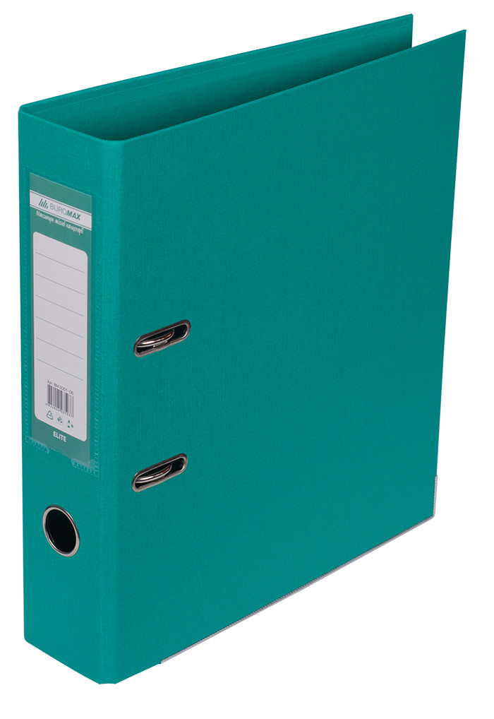 Регистратор 7 см Buromax PP А4 двухсторонняя бирюзовый (BM.3001-06c)