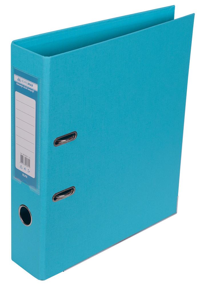 Регистратор 7 см Buromax PP А4 двухсторонняя голубой (BM.3001-14c)
