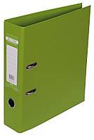 Регистратор 7 см Buromax PP А4 двухсторонняя салатовый (BM.3001-15с)