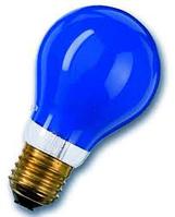 Лампа UA 240-25 A  Е27  синя