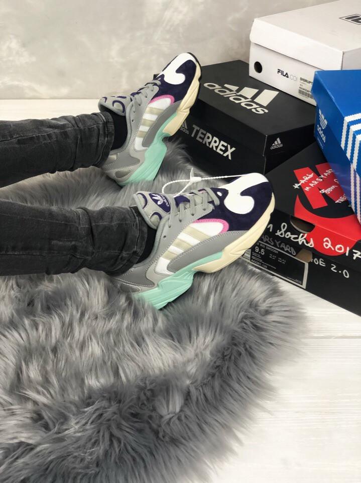 Женские кроссовки в стиле Adidas Yung 1, женские весенние кроссовки Адидас Янг 1 (Реплика ААА)
