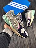 Женские кроссовки в стиле Adidas Yung 1, женские весенние кроссовки Адидас Янг 1 (Реплика ААА), фото 5