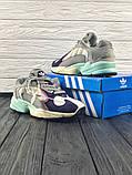 Женские кроссовки в стиле Adidas Yung 1, женские весенние кроссовки Адидас Янг 1 (Реплика ААА), фото 7