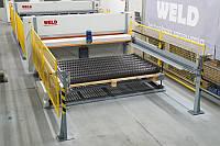 Автоматическая линия по производству сварных сетчатых панелей