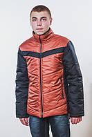Куртка мужская терракот, фото 1