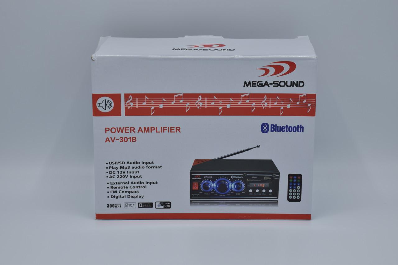Усилитель звука Mega Sound AC301B