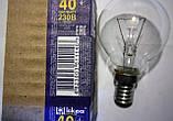 Лампа накаливания 40 Вт., фото 2