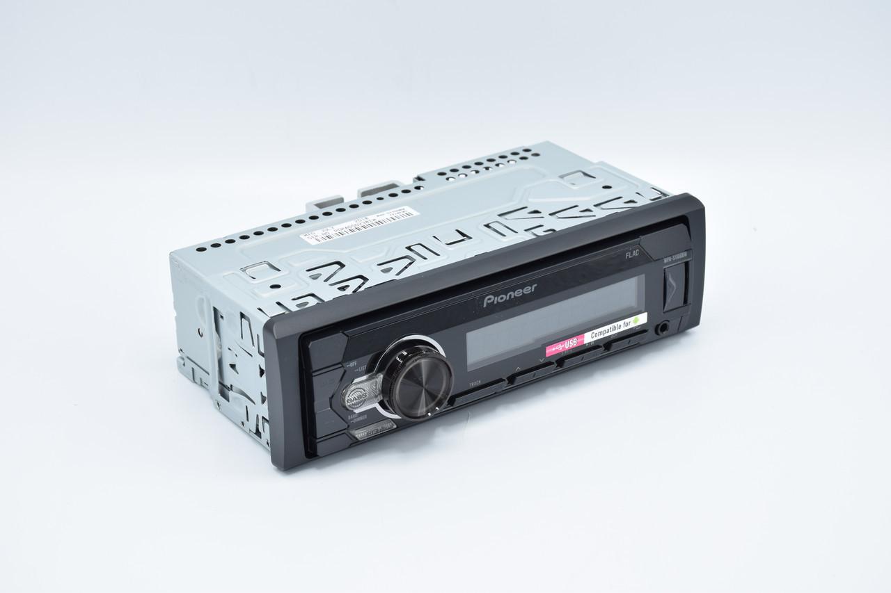 Автомагнитола Pioneer MVH-S110UBW Белая подсветка поддержка USB флешки с mp3 и FLAC New оригинал