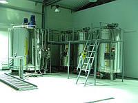 Линия ( оборудование ) для гомогенизации переработки меда