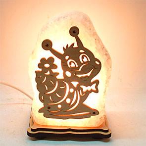Соляной светильник Улитка