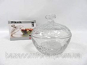 Сахарница стеклянная с крышкой 97556 Pasabache Piknik