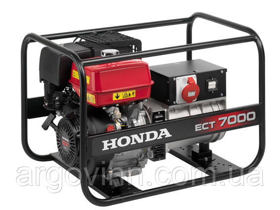 Бензогенератор Honda ECT7000K1 (Японія)
