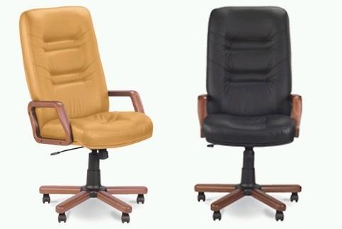 Кресло кожаное для руководителя «MINISTER extra» SP