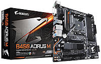 Материнская плата B450 AORUS M AM4 B450 4 DDR4 DVI / HDMI / M.2 uATX