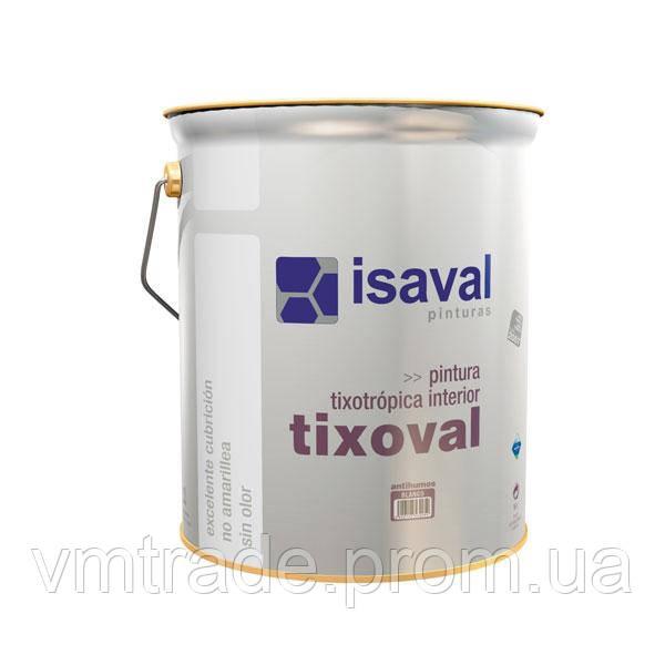 Краска тиксотропная против дыма, копоти, Изаваль Тиксоваль (Isaval Tixoval) 4 л