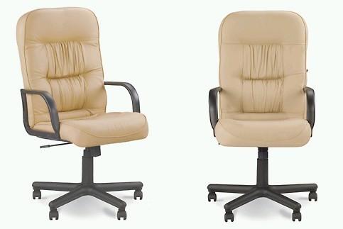 Кресло кожаное для руководителя «TANTAL» SP