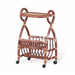 Газетница на колесиках (новый коньяк)