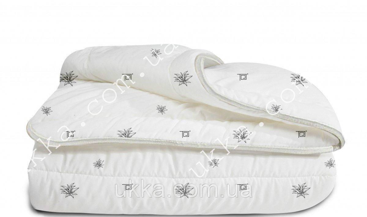 Двуспальное одеяло Aloe vera membrana print экспортный вариант Теп