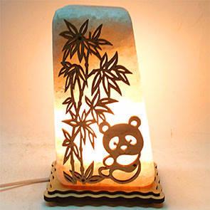 Соляний світильник Панда-16