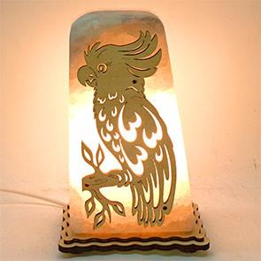 Соляной светильник