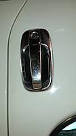 Мыльницы под ручки Opel Vivaro (2001-2014) нержавейка,3шт
