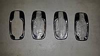 Мыльницы под ручки Opel Vivaro (2001-2014) нержавейка,4шт