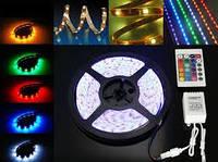 Светодиодная лента SMD 5050 60д/м. RGB влагозащищённая (1м)