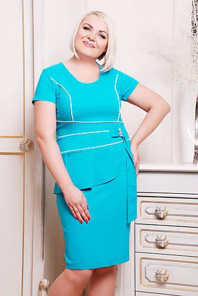Платье Афродита (бирюза), фото 2