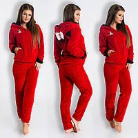 Махровый домашний костюм - пижама с ушками Минни Маус (р.42-46)