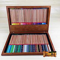 Цветные карандаши MARCO Fine Art-72WB 72 цвета в деревянном пенале материал Карандашей кедр (уп8)