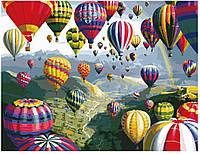 Живопись по номерам MG 1056 (КН1056) Разноцветные шары 40 х 50 см, фото 1