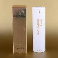 Женская мини парфюмерия Dolce&Gabbana The One 45 ml (в белом тубусе) ALK