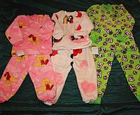 Пижама Цветная 26-34р.на двух кнопках махра рваная