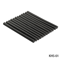 Смола (кератиновые палочки) KHS-01 для наращивания волос, цвет — черный (10шт в пак),
