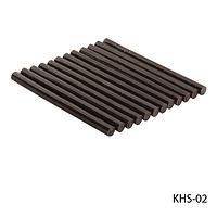 Смола (кератиновые палочки) KHS-02 для наращивания волос, цвет — коричневый  (10шт в пак),