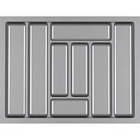 Лоток для столовых приборов Standart 700 мм Серый  630x480x42 мм, фото 1