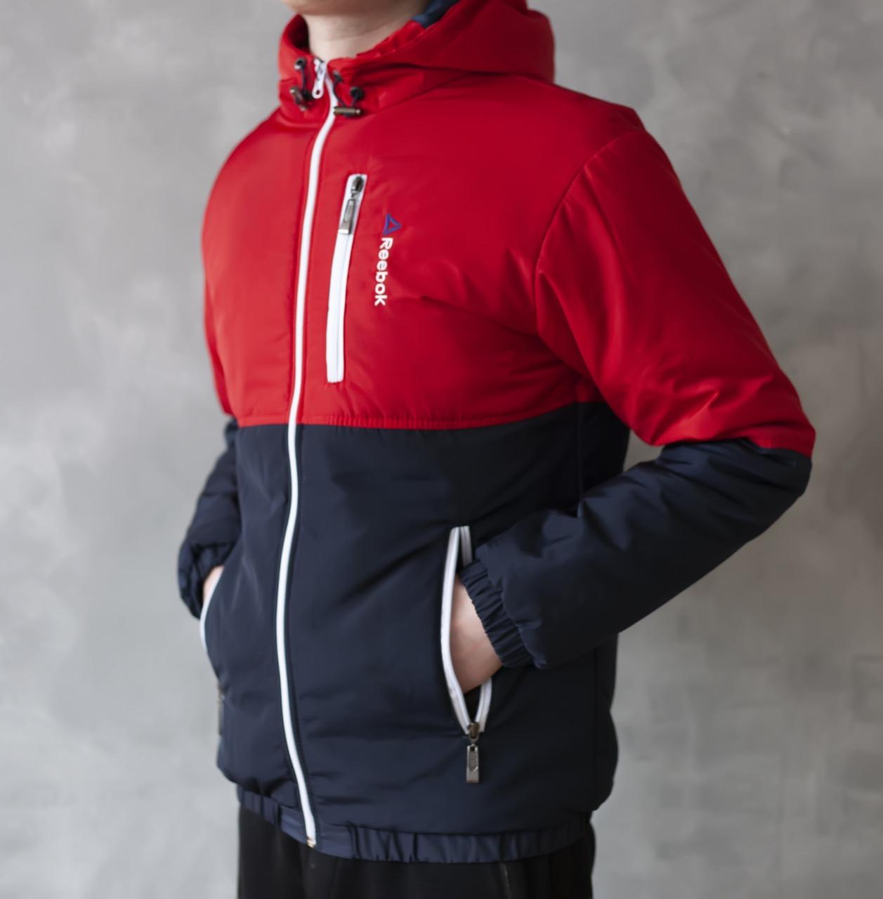f8458561 Мужская куртка Reebok демисезонная 2019 купить недорого. Большой ...